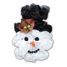 How to make a snowman with our New Snowman Head Frame from Creative Gift Packaging Inc.(Available in August 2014) The popular Snowman Wreath has never been easier to make! Our brand new Snowman He...