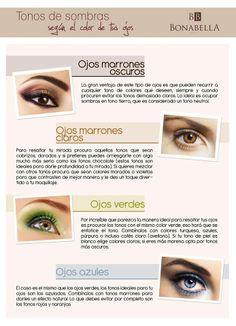 Los ojos son quizás la parte que más destaca de un rostro, por lo tanto es importante encontrar la mejor manera de hacerlos destacar. Conoce algunos tips para aplicar sombras de acuerdo al color de tus ojos.