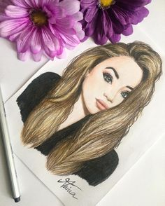 Sabrina Carpenter drawing by @Artistinx