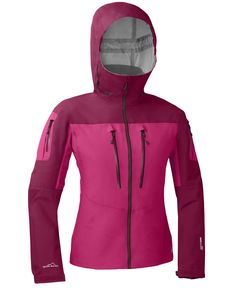 Eddie Bauer Womens Heli Guide Ski Snowboard Jacket NEW Large Berry Like Heyburn #EddieBauer #BasicJacket