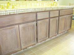 white washed oak cabinets   Whitewashed Oak Cabinets ...