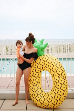 This forecast calls for 100% chance of fun. Make a splash with the perfect swimsuit for you and your little ones. This pineapple float is sure to rule the pool, and all at prices that stay in the shallow end.