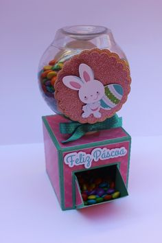 FREE studio file to make this candy dispenser