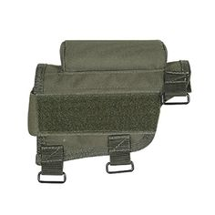 Voodoo Tactical Buttstock Cheek Piece for Fixed Rifle Stocks,OD Green,Ambidextrous 20-942104000 VooDoo Tactical http://www.amazon.com/dp/B007FTAR3O/ref=cm_sw_r_pi_dp_ox6rvb0M81B37