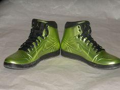 sz 12 Nike Air Jordan 1 I Anodized foamposite Altitude Green xiii bred #NikeJordan #BasketballShoes