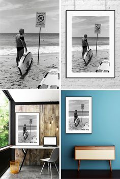 If you or your loved one enjoy surf wall art prints this unique black and & 45 best Surf Wall Art Ideas images on Pinterest | Art ideas Black ...