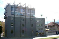 Studentenhaus Graßmayrstraße #architecture Locker Storage, Multi Story Building, Architecture, Furniture, Home Decor, Student House, Projects, Arquitetura, Decoration Home