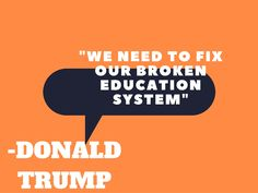 How does Donald Trump plan to do it? No one's really sure: http://www.educationworld.com/a_news/opinion-trump-has-cheated-students-so-why-would-help-them-when-elected-1530653763
