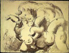Pablo Picasso - 1933 Minotaure et nu (Le viol) | Monica Rossi | Flickr