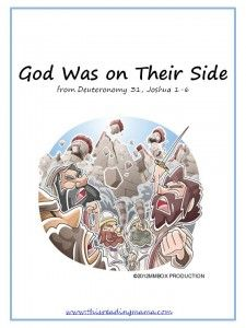 God Was On Their Side Reader Joshua And The Battle Of Jericho Phonics For Kids