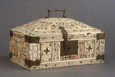 small ivory box ca. 12th c.