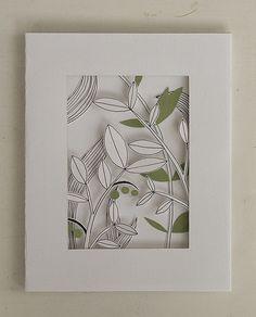 Handmade 3D Card for Lisa by Sanna*, via Flickr