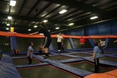 Sky Zone I first heard about this was on housewives of Orange County. I saw a little part on the show, and now starting to become popular throughout many states! Looks fun for kids and birthday parties. :)