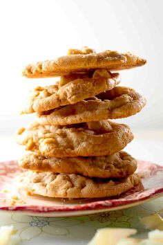White Chocolate-Macadamia Nut Cookies   Rich and warm buttery crunch mingled with creamy white chocolate...   Recipe - Saveur.com