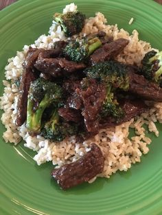 [Homemade] Beef and Broccoli