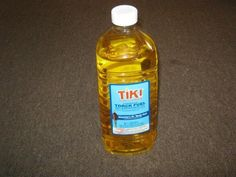 Tiki Brand Citronella Tiki Torch Fuel 98 oz Lemon Grass Oil Patio Torch Lamp Oil
