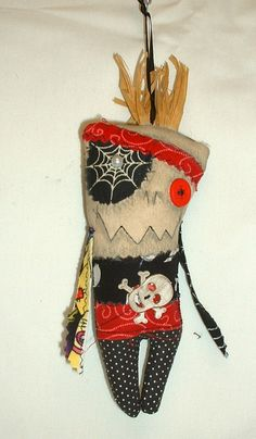 Mini Pirate Monster Voodoo Doll Ornament 4 by FromGramsHouse,