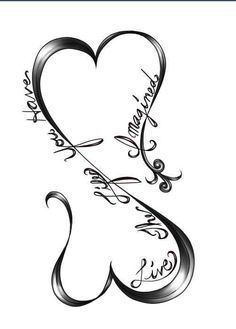 cross drawings with hearts - Google Search