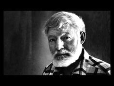 Great sample of Earnest Hemingway talking about originality and creativity in writing, everything he says also applies to music and art too i believe . Earnest Hemingway, Einstein, Roman, Entertainment, Music, Youtube, Musica, Musik, Muziek