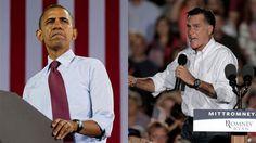 Obama admits some ads go 'overboard'; Romney defends campaign in dueling interviews    Published September 24, 2012    FoxNews.com        obama_romneydenver.jpg