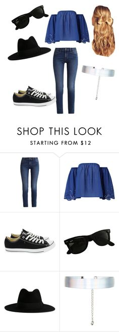"""""""Summer"""" by carley-nichols ❤ liked on Polyvore featuring Calvin Klein, Converse, Ray-Ban, Yves Saint Laurent, Accessorize and Hershesons"""