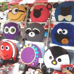 Penguin Pillow - Cushion CROCHET PATTERN - crochet patterns for animal pillows - Birthday present - Baby shower gift Crochet Cushion Cover, Crochet Pillow Pattern, Crochet Quilt, Crochet Cushions, Crochet Motif, Crochet Patterns, Pillow Patterns, Crochet Animals, Crochet Toys
