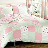 Patchwork duvet cover - Pink