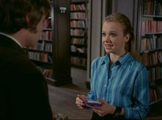 "Hywel Bennett as Martin Durnley/Georgie and Hayley Mills as Susan Harper in ""Twisted Nerve"" Pulp Fiction, Tower Of London, Guy Names, Horror Films, Crazy Cats, Thriller, Comedy, Cinema, Romance"