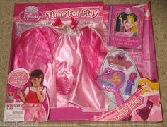 Disney Princess Time for Play SLEEPING BEAUTY Outfit Costume Size 4-6x NEW