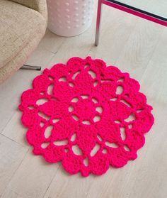 Pretty in Pink Rug