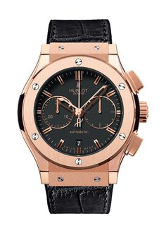 Classic Fusion King Gold Chronograph watch from Hublot