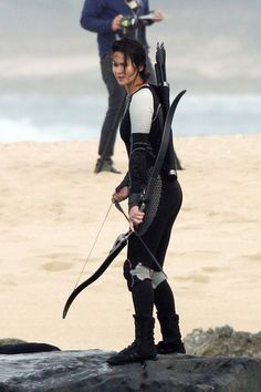 The latest set photos from the first days of filming 'The Hunger Games: Catching Fire' in Hawaii.