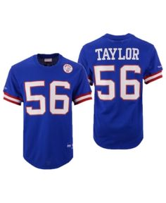 b8998baf2 Mitchell   Ness Men Lawrence Taylor New York Giants Mesh Name and Number  Crewneck Jersey