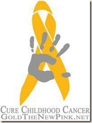 Gold ribbon: Childhood cancer awareness