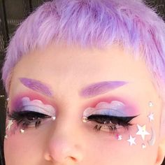 Edgy Makeup, Grunge Makeup, Makeup Inspo, Makeup Art, Makeup Inspiration, Beauty Makeup, Makeup Ideas, Punk Makeup, Grunge Hair
