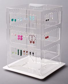 Earring Stand Ladder Spinner All Types Of Earrings Display