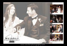 Jupiter Beach Resort and Spa Wedding Album page 33 & 34. Debra Weisheit, Photographer