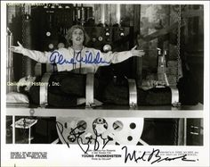 YOUNG FRANKENSTEIN MOVIE CAST - PHOTOGRAPH SIGNED CO-SIGNED BY: PETER BOYLE MEL BROOKS GENE WILDER @ niftywarehouse.com #NiftyWarehouse #Frankenstein #Halloween #Horror #HorrorMovies #ClassicHorror #Movies