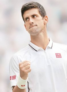 Lookin' snazzy in white Novak ; Sport Tennis, Le Tennis, Tennis Wallpaper, Professional Tennis Players, Tennis Workout, My Champion, Mr Perfect, Tennis Stars, Sports Figures