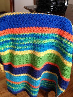 Crocheted blanket for Dylan