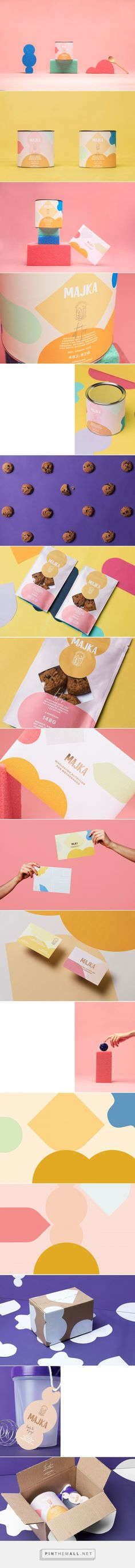 Majka - protein for moms - packaging design by Futura - http://www.packagingoftheworld.com/2017/11/majka.html