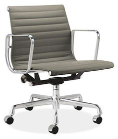 Exceptionnel Via BKLYN Contessa :: Herman Miller :: Eames Aluminum Management Chair ::  Smoke
