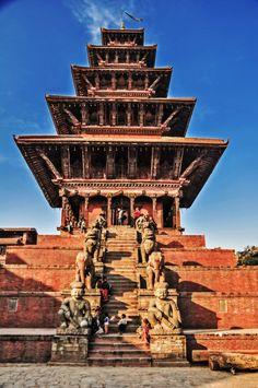 Nyatapola, Bhaktapur, Nepal #visitNepal #helpNepal #supportNepal #volunteerforNepal #tourismtorebuild #traveltohelp #travel #tour #trek #Nepal #3TN email:info@3tnepal.com