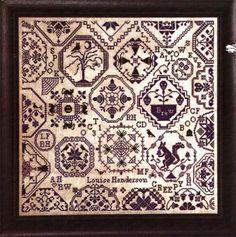 Quaker Halloween - Cross Stitch Pattern