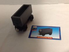 Troublesome Truck Thomas and Friends Wooden Railway Train Car Collector's Card #LearningCurve