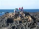 Ireland - basalt columns..been here!