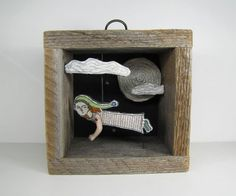 Cindy Steiler, telling stories through embroidery