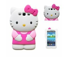 Hello Kitty 3D Soft Case Cover for Samsung Galaxy S III GT- i9300 - Dark Pink My new case