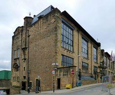 Glasgow, Scotland Glasgow School of Art (east)