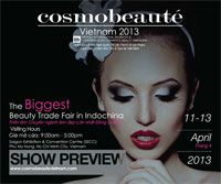 The biggest beauty Trade Fair in Indochina